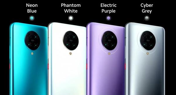 Poco F2 Pro kleuren