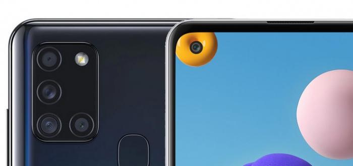 Samsung Galaxy A21s onderweg: zeer interessant toestel voor 199 euro