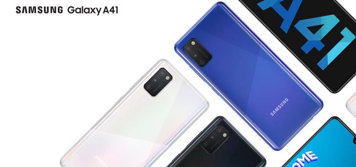 Samsung Galaxy A41 vanaf nu te koop: prima specs en goed design voor 299 euro