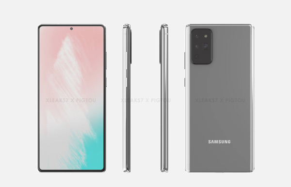 Samsung Galaxy Note 20 render