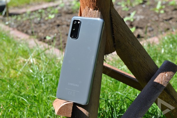 Samsung Galaxy S20 achterkant