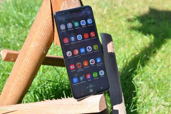 Samsung Galaxy S20 Menu