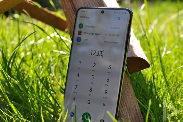 Samsung Galaxy S20 bellen
