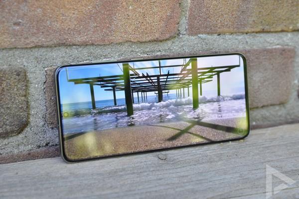 Samsung Galaxy S20 beeldscherm