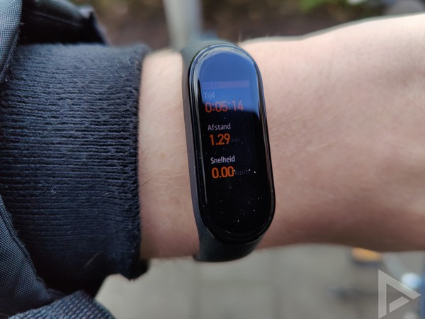 Xiaomi Mi Band 4 workout