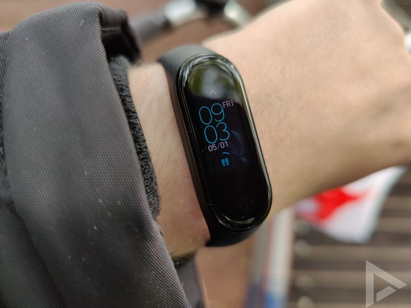 Xiaomi Mi Band 4 timer watchface