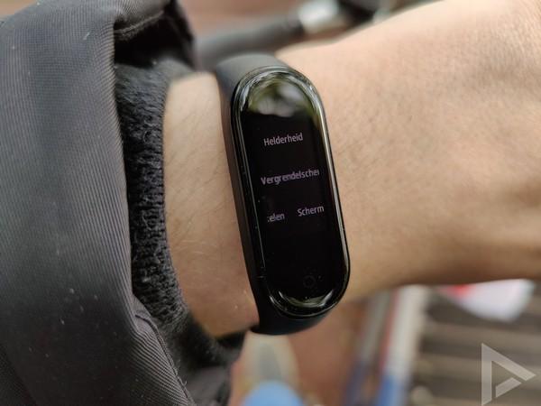 Xiaomi Mi Band 4 timer instellingen