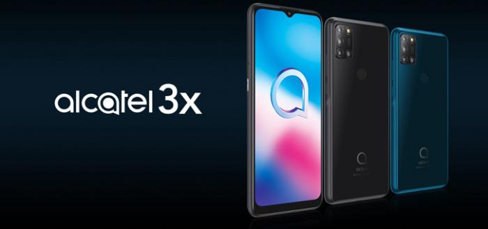 Alcatel komt met interessante Alcatel 3X (2020) voor 169 euro