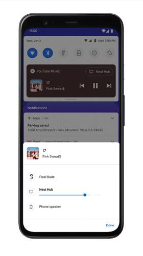 Android 11 mediabediening