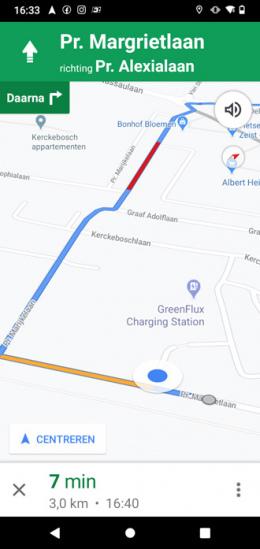 Android Go Google Maps Navigatie