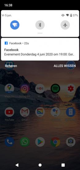 Android Go notificaties