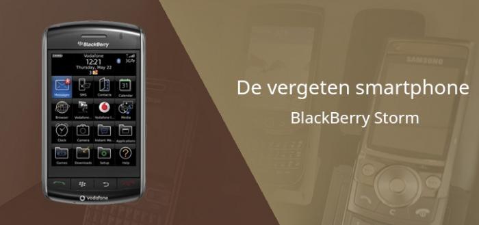 De vergeten smartphone: BlackBerry Storm (en de enorme invloed van Apple)