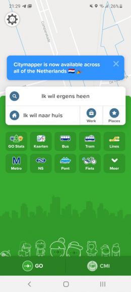 Citymapper Nederland