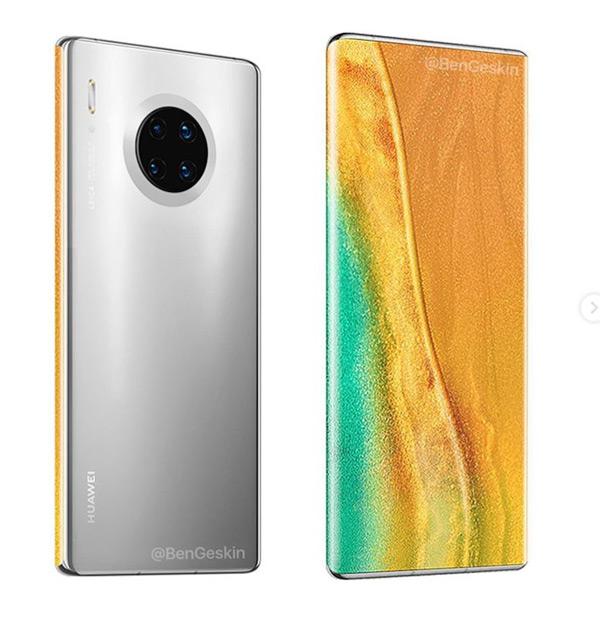Huawei Mate 40 Pro renders
