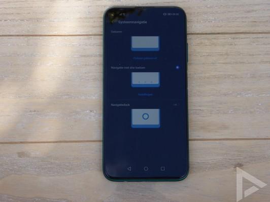 Huawei P40 Lite gestures navigatie