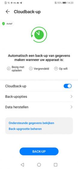 Huawei WhatsApp Back-up