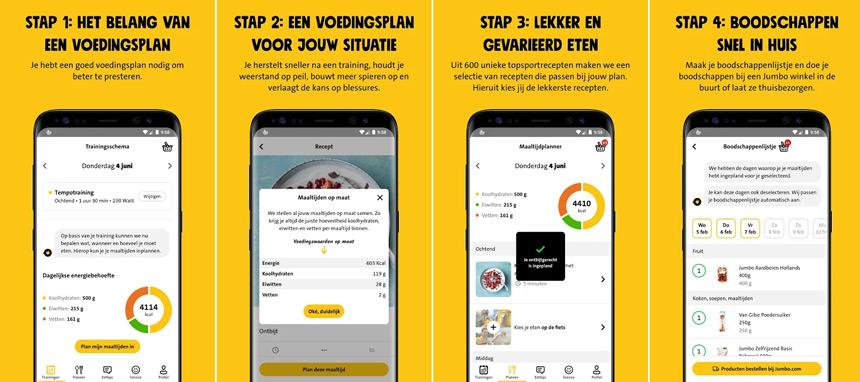 Jumbo Foodcoach app