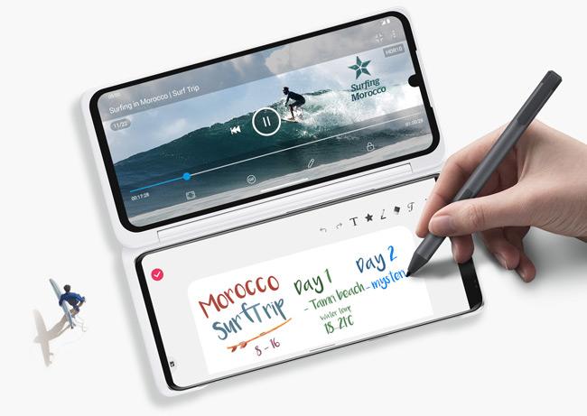 LG Velvet Dual Screen