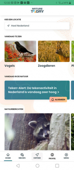 Nature Today teken