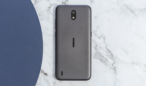 Nokia 1.3 Android Go achterkant