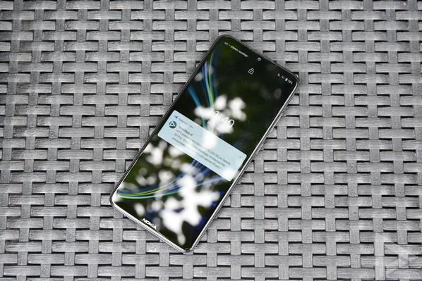 Nokia 5.3 lockscreen