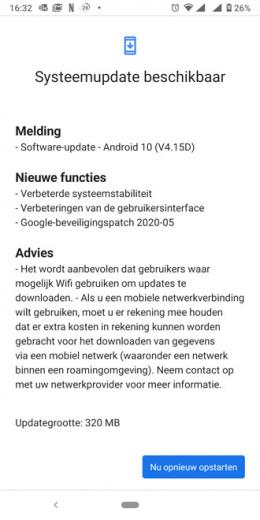 Nokia 7 Plus beveiligingsupdate mei 2020