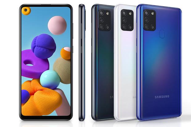 Samsung galaxy A21s kleuren