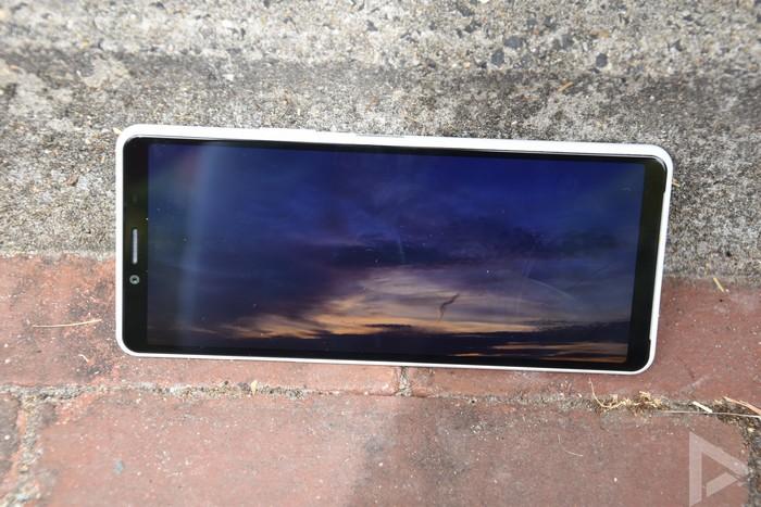 Sony Xperia 10 II scherm