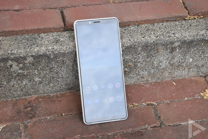 Sony Xperia 10 II design