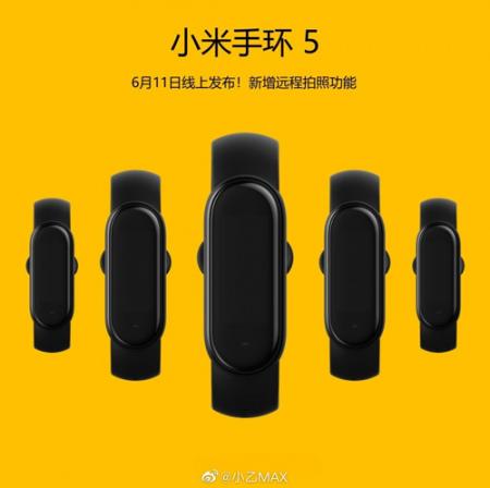 Xiaomi Mi Band 5 11 juni