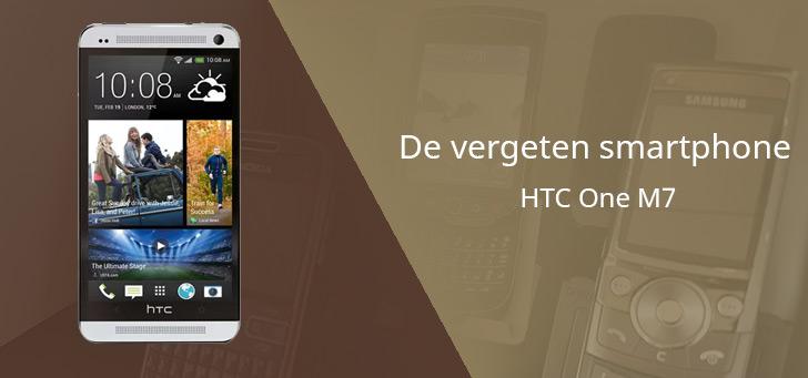 De vergeten smartphone: HTC One M7