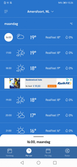 AccuWeather 7.0
