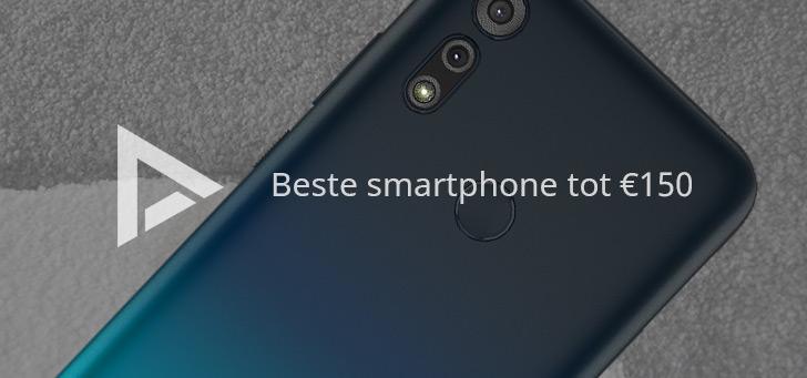 De 5 beste smartphones tot 150 euro (07/2020)