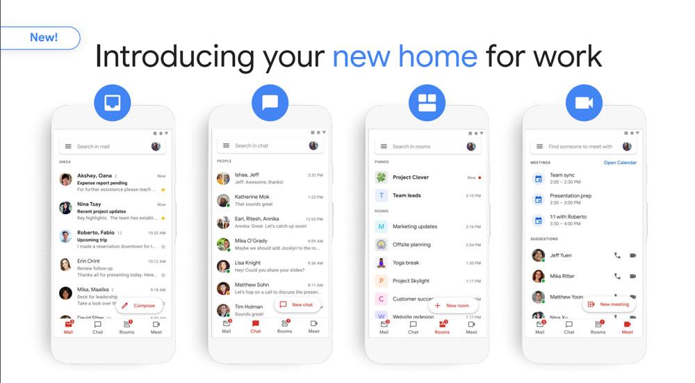 Gmail app 2020
