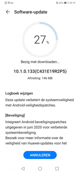 Huawei P30 Pro juni update
