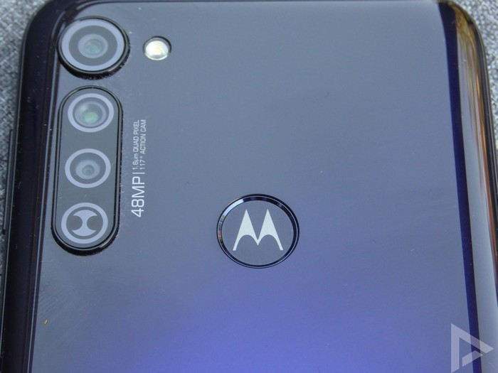 Moto G Pro vingerafdrukscanner