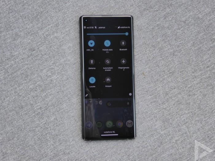 Motorola Edge notificaties