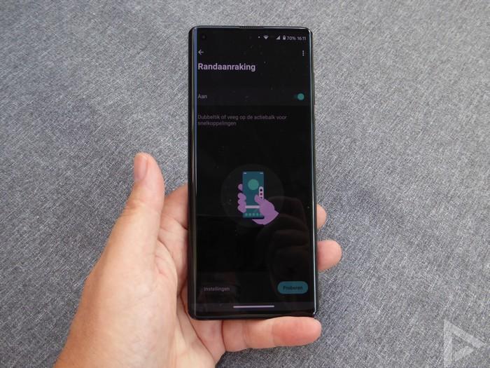 Motorola Edge randaanraking