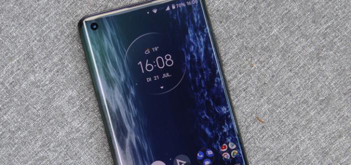 Motorola rolt Android 11 uit voor Motorola Edge