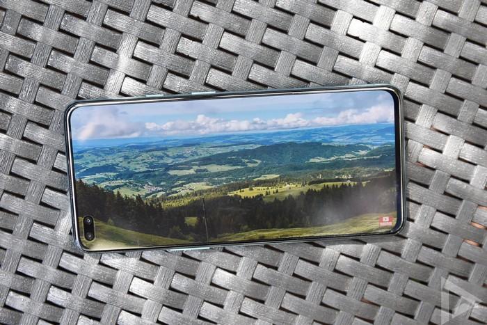 OnePlus Nord scherm