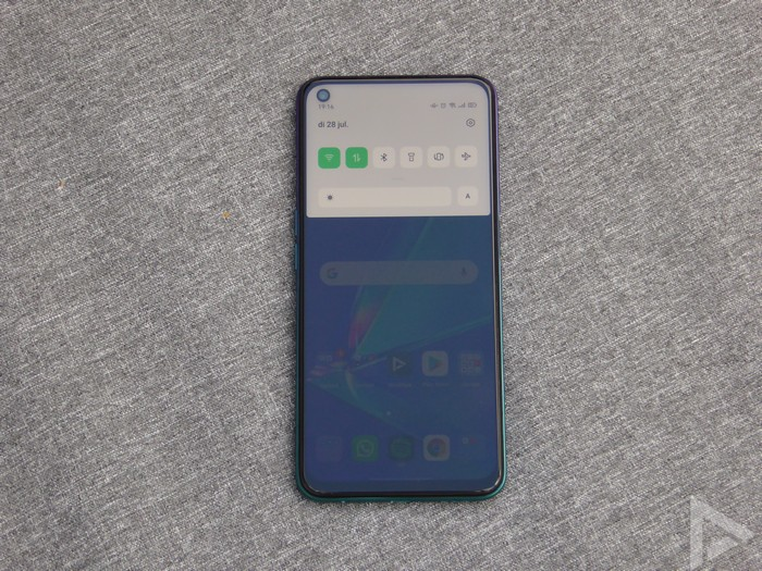 Oppo A72 notificaties