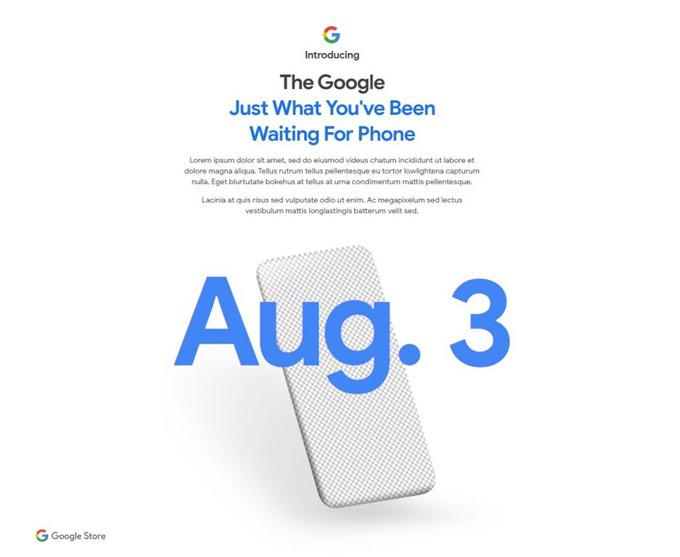 Pixel 4a 3 augustus