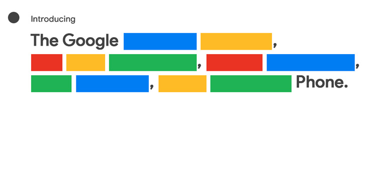 'Aankondiging Pixel 5 en 4a 5G op 30 september'