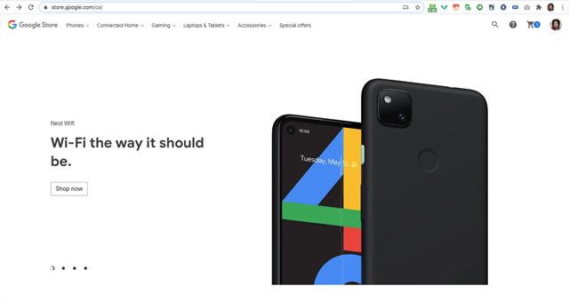 Pixel 4a webwinkel