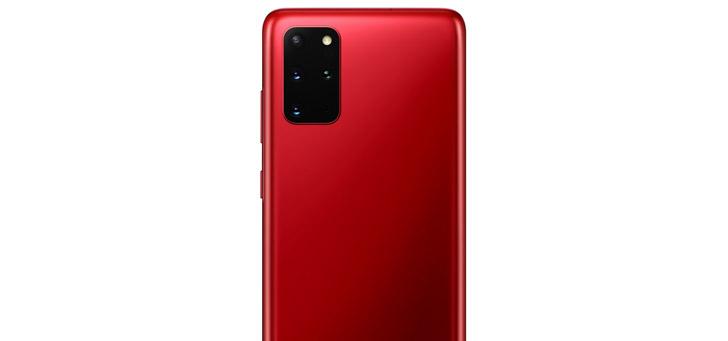 Samsung presenteert rode Galaxy S20+ in 'Aura Red' voor Europa