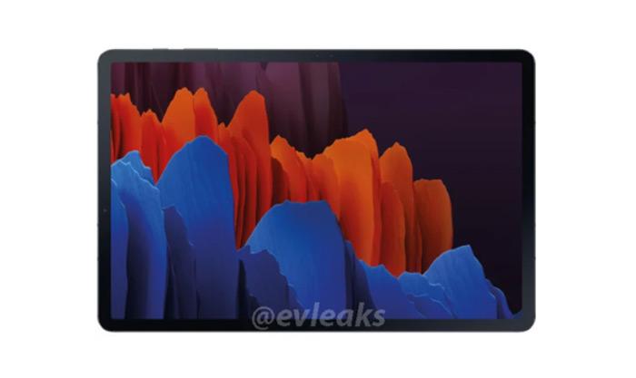 Samsung Galaxy Tab S7 evleaks