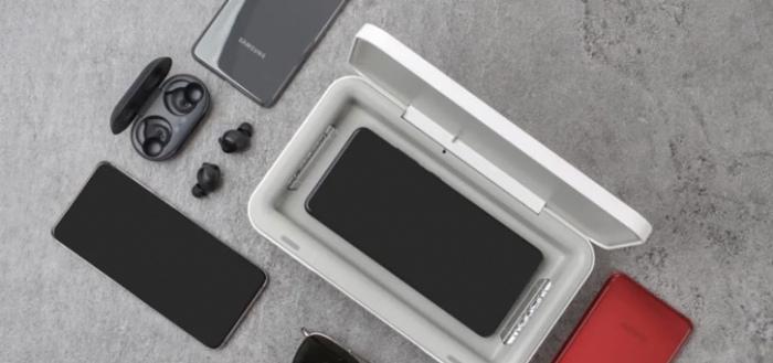 Samsung komt met UV-sterilizer voor desinfecteren van smartphone en meer