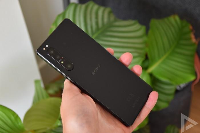 Sony Xperia 1 II achterkant