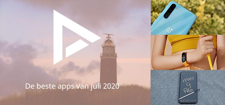 De 5 beste apps van juli 2020 (+ het belangrijkste nieuws)
