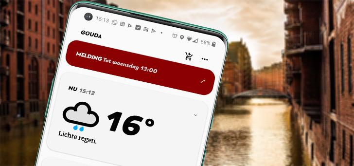 Appy Weather: een duidelijke weer-app in eenvoud